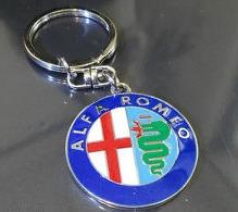 Alfa Romeo kulcstartó