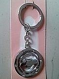 Chevrolet kulcstartó kristállyal