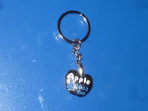 Alma apple kulcstartó