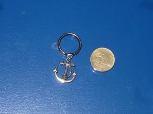 Horgony kulcstartó mini