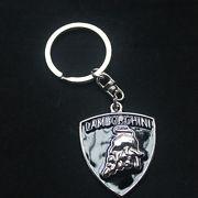Lamborghini kulcstartó fekete ezüst