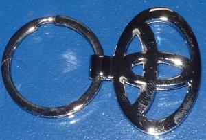 Toyota kulcstartó