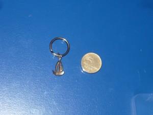 Vitorlás kulcstartó mini