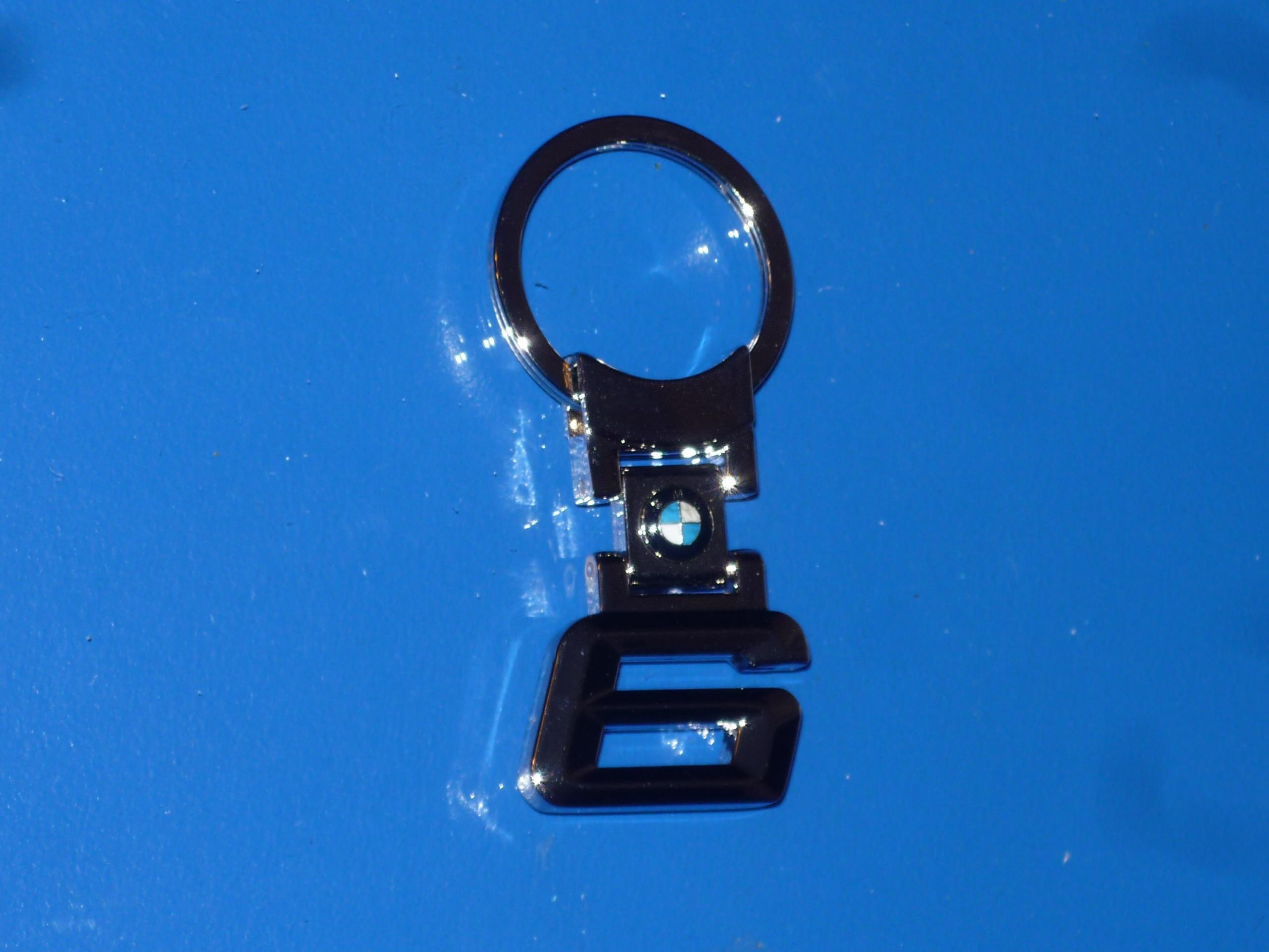 BMW 6 kulcstartó