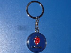Saab kulcstartó