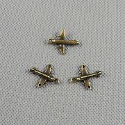 Repülő medál kulcstartó bronz színben