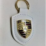 Porsche kulcstartó fehér