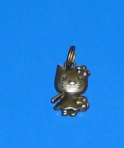 Hello Kitty mini kulcstartó medál