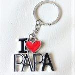 I love Papa Szeretlek apa papa kulcstartó