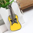 Sárga gitár kulcstartó