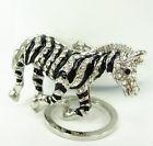 Zebra kulcstartó táskadísz
