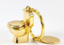 Arany trón kulcstartó