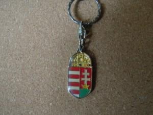Magyar címer kulcstartó vintage