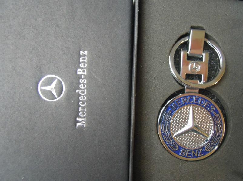 Mercedes klassic kulcstartó fekete dobozban