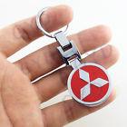 Mitsubishi kulcstartó piros kétoldalas