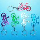 Kerékpár bringa kulcstartó szines