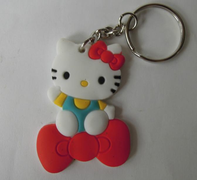 Cica Hello Kitty kulcstartó