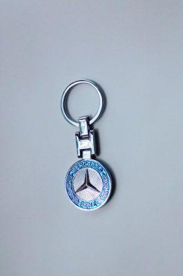 Mercedes kétoldalas kulcstartó