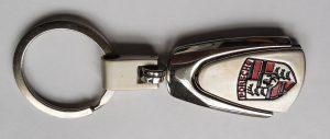 Porsche kulcstartó fém