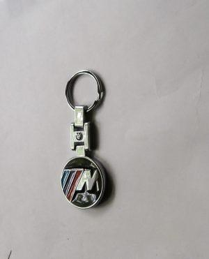 BMW M kulcstartó kör kétoldalas