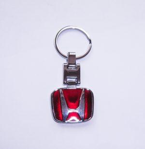 Honda kulcstartó piros