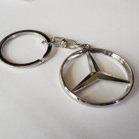 Mercedes kulcstartó kapcsos