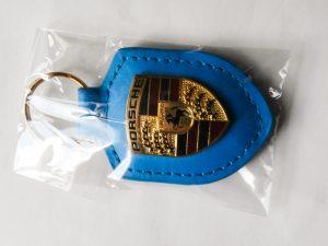 Porsche kulcstartó kék
