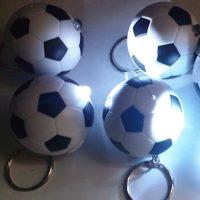 világító focilabda kulcstartó