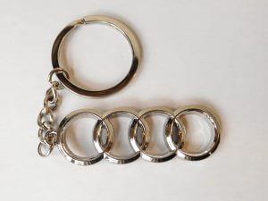 Audi kulcstartó hosszúkás