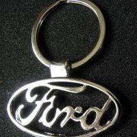 Ford fém kulcstartó