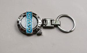 Volvo kulcstartó kék