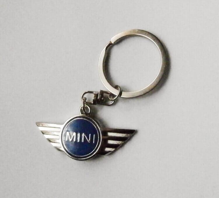 Mini kulcstartó kék