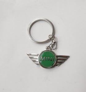 Mini kulcstartó zöld