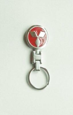 Mitsubishi kulcstartó piros