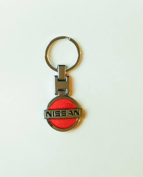Nissan kulcstartó piros