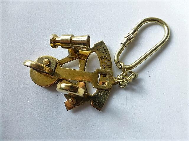 Sextáns kulcstartó, hajó, yacht, vitorlás