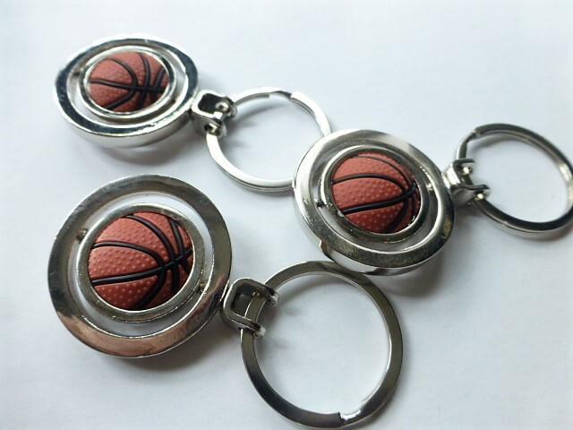 Kosárlabda kulcstartó