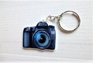 Foto fényképész fényképezőgép kulcstartó