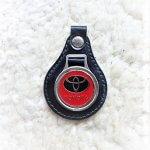 Toyota kulcstartó piros vintage