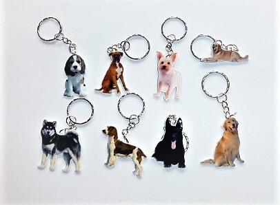 Kutya kulcstartó