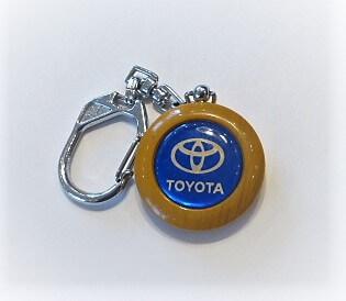 Toyota kék kulcstartó vintage
