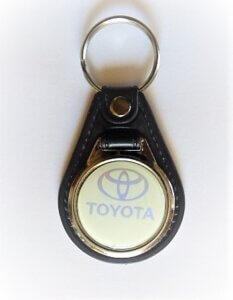Toyota kulcstartó szürke vintage