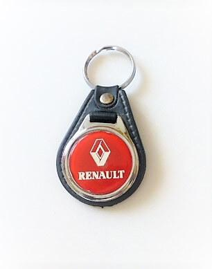 Renault kulcstartó piros vintage